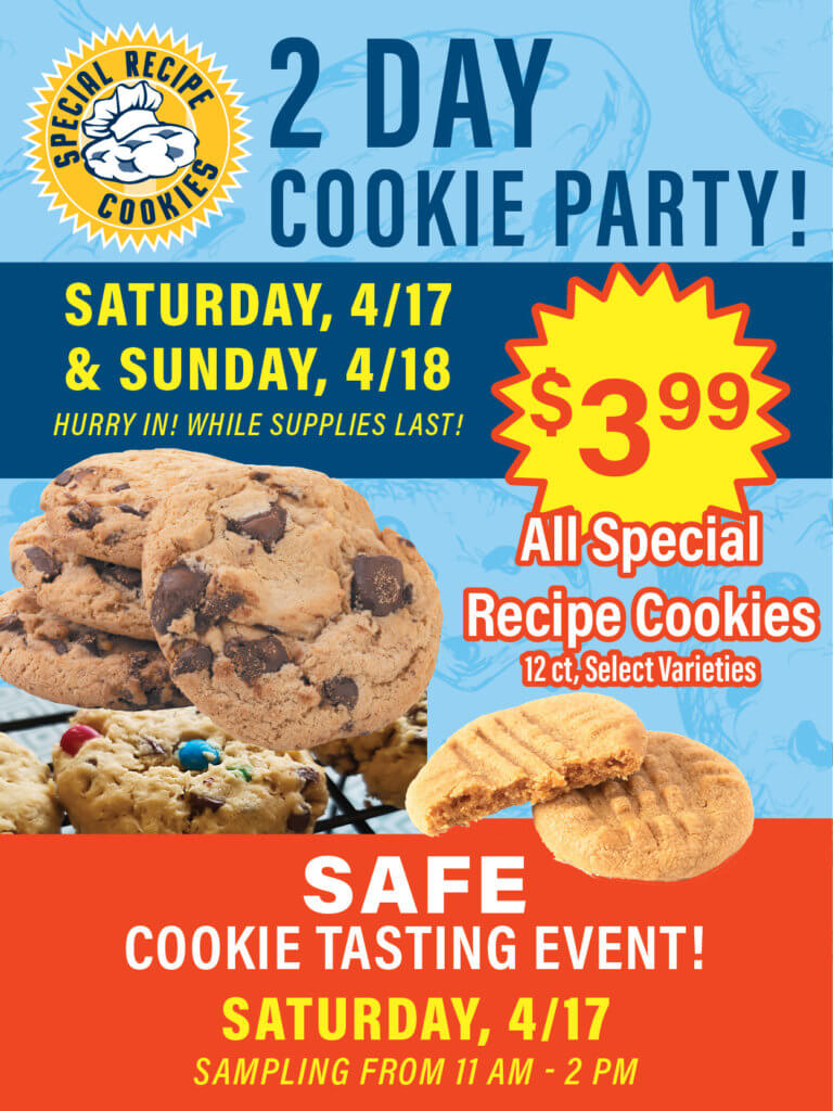 Cookie Party Sale